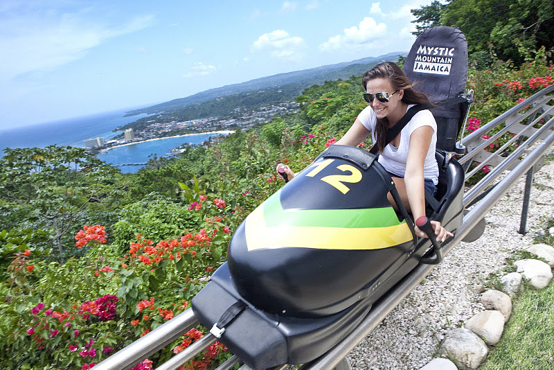 Jamaica Bobsled Mystic Mountain Tour