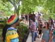 "Visitors on Bob Marley ""King of Reggae"" Birthplace Tour."