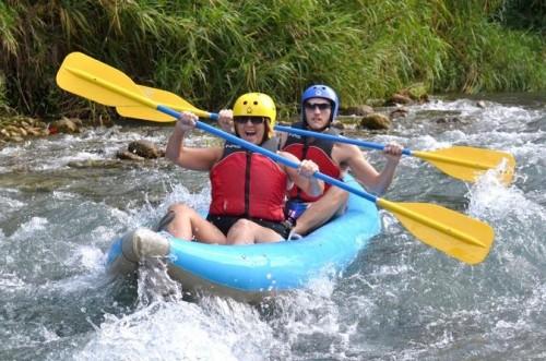 Kakaking on the Rio Bueno